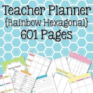 https://www.teacherspayteachers.com/Product/Teacher-Planner-Rainbow-Hexagonal-287336