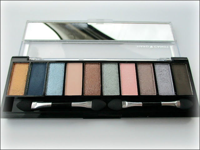 Hard Candy Top Ten Satin Eyeshadow Palette in 'Rich & Famous'