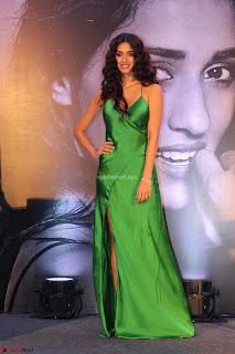 Disha Patani in Beautiful Green Gown at her App Launch 027.JPG