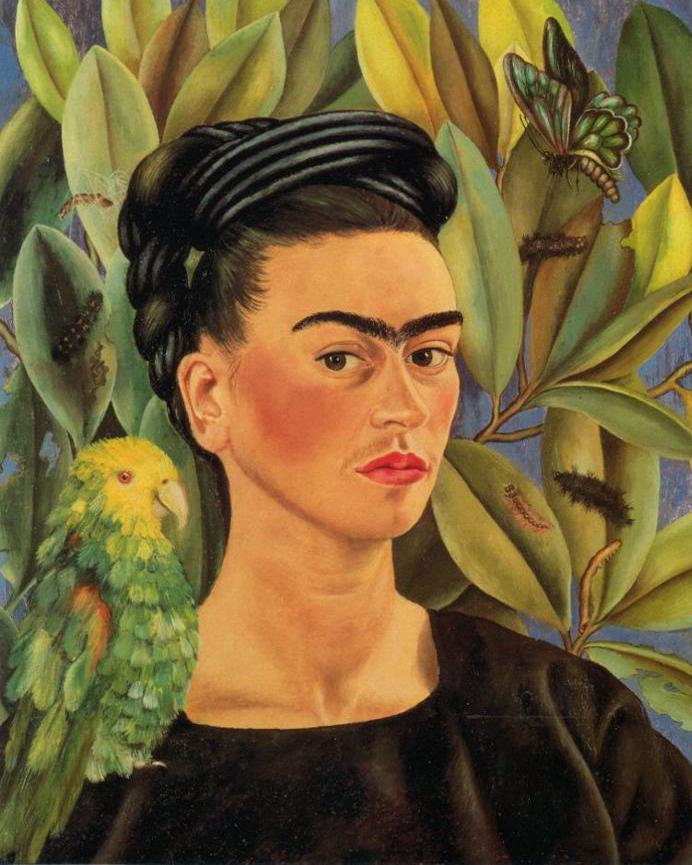 jerdee s art classes mixed media frida kahlo collaborative project