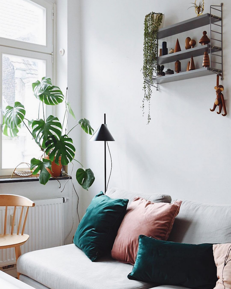 A Relaxed Cologne Home with Mid-Century Vibes | my