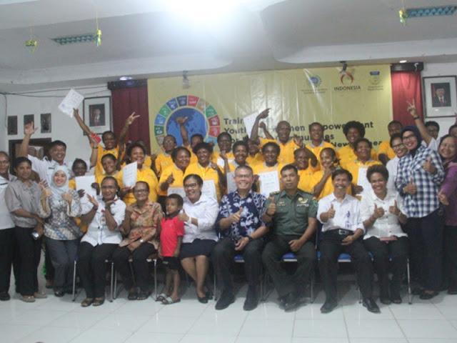 Pemuda dan Perempuan di Perbatasan RI-PNG Harus Kembangkan Potensi