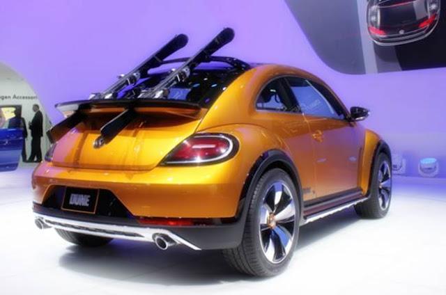 2017 Volkswagen Beetle Dune Redesign