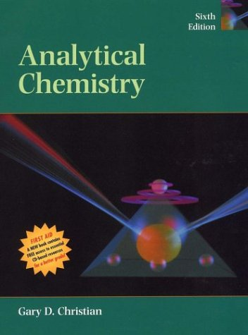 PU STUFFS   STUDENT SERVICES SECTION   : Analytical Chemistry By Gary D. Christian