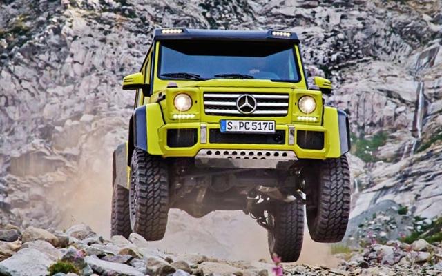 Mercedes-Benz G550 4х4²