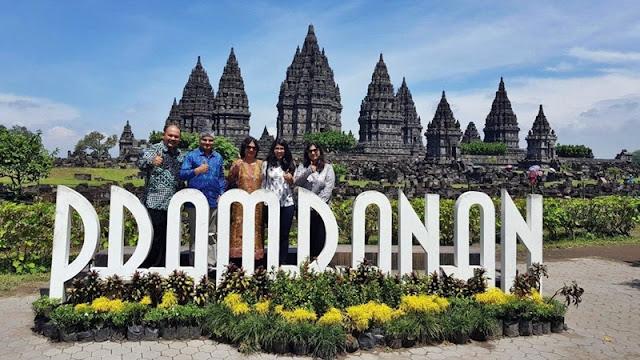 Pesona Candi Prambanan Menjadi Daya Tarik Wisatawan Dunia Internasional