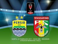 Persib vs Mitra Kukar, Perempat Final Piala Presiden 2017