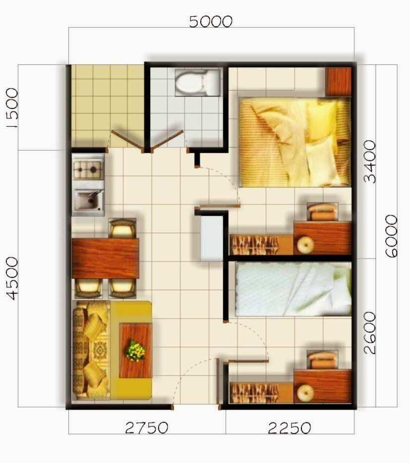 Desain Rumah Minimalis 2 Lantai Type 55 Foto Desain