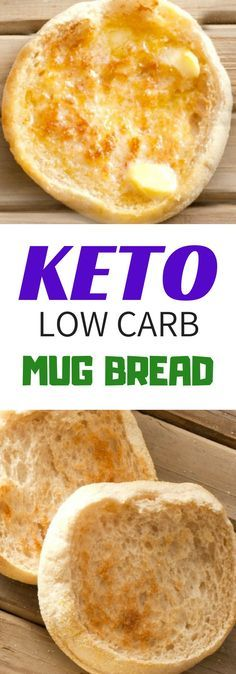 EASY KETO LOW CARB MUG BREAD RECIPES