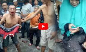 Video Begal Sadis Dihajar Warga Jadi Viral, Saat Dipukuli Malah Nangis Manggil-manggil Mamaknya