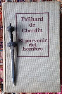 Portada del libro El porvenir del hombre, de Teilhard de Chardin