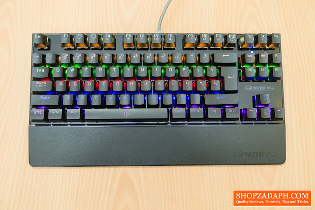 gigaware k28 mechanical gaming keyboard review