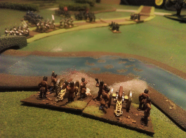 Battle of Oeversee 1864 scenario: Austrian artillery