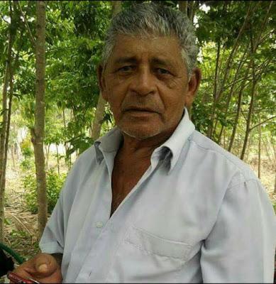 """Nota de Falecimento! Morre o Sr. Cecilio Rodrigues Teixeira, conhecido como """"Sr Jaco"""""""