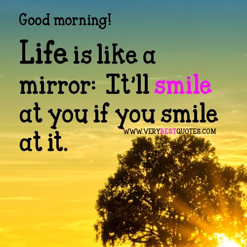 Some Good Quotes On Life: Bila Hati Berbicara....: Selamat Pagi Dunia
