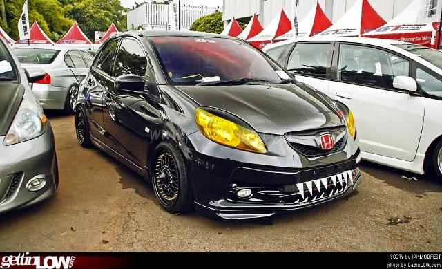 Modifikasi Honda Brio Garang