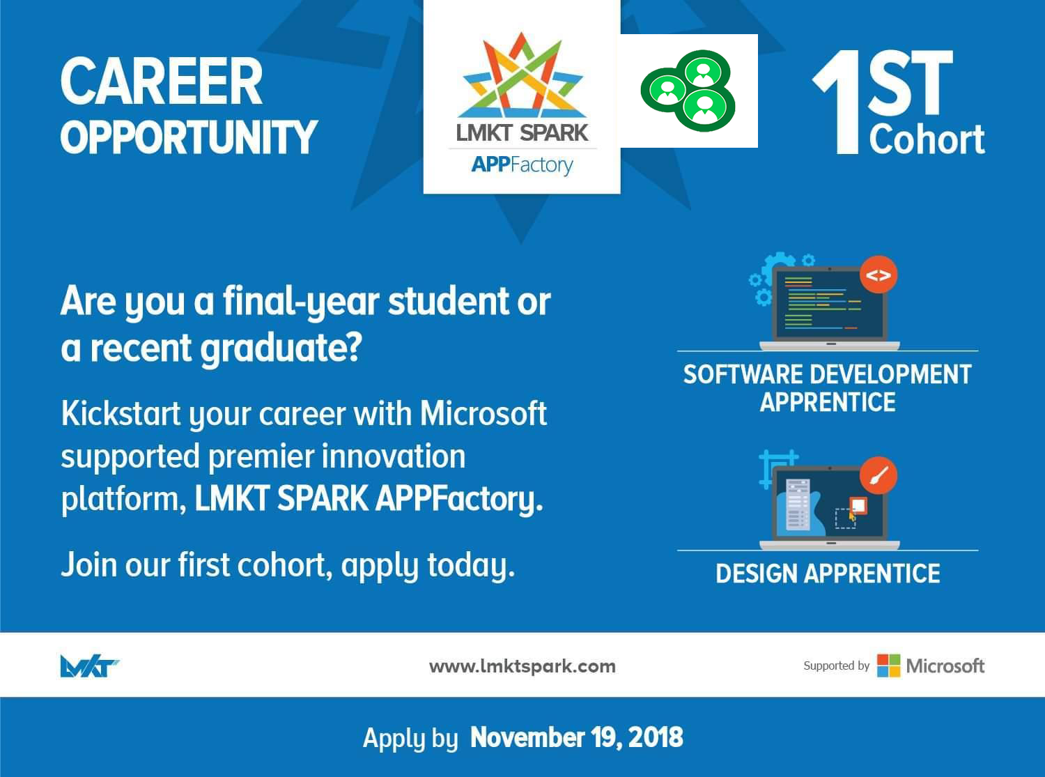 microsoft supported lmkt spark appfactory providing oppurtunities to