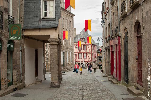Dinan imprescindibles Bretaña francesa viaje