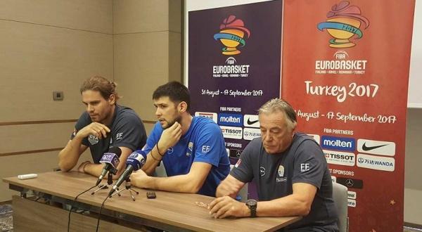 Ευρωμπάσκετ 2017: Έτοιμοι για τον αυριανό προημιτελικό με τη Ρωσία, όπως δήλωσαν Κώστας Μίσσας, Κώστας Παπανικολάου και Γιώργος Μπόγρης