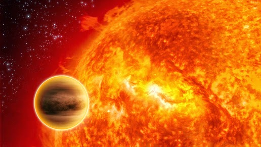 Illustration of Hot Jupiter