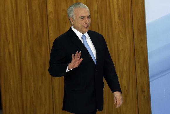 Durante jantar na residência da presidência da Câmara, Michel Temer afirmou que, sem a reforma, a retomada do crescimento econômico ficará prejudicadaValter Campanato/Agência Brasil