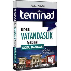657 Yayınları KPSS Teminat Vatandaşlık Açıklamalı Soru Bankası 2017