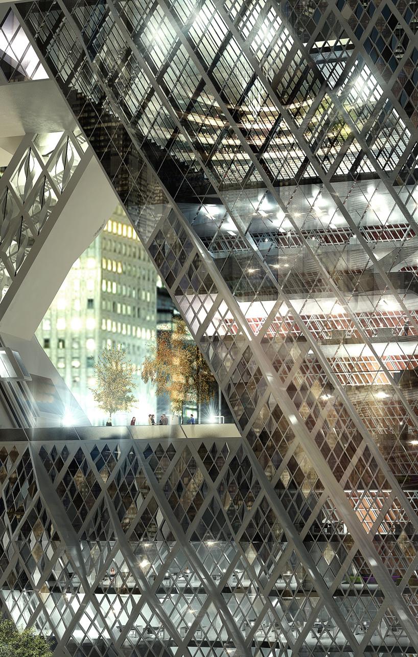 aRchitectuRe, aRt coDe & facaDe: NYbillboard by architect chris precht