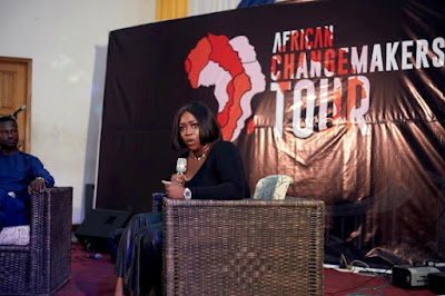 THE YCEO: Peace Hyde, Seyi Tinubu, John Dumelo inspire students at African Changemakers Tour in KNUST