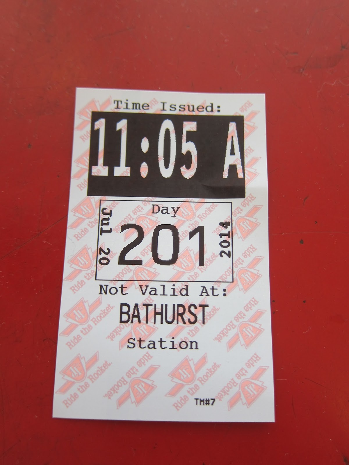 Bathurst station transfer