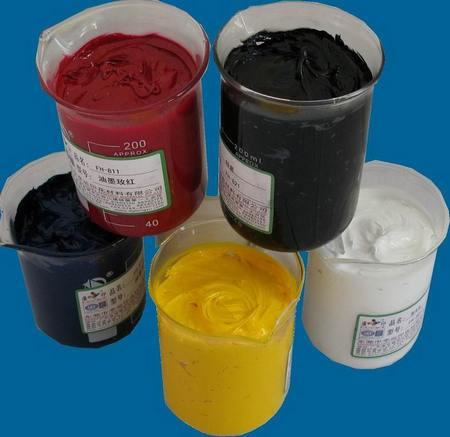 means localized application of dyes on the fabric according to design Printing Paste Ingredients and their Functions