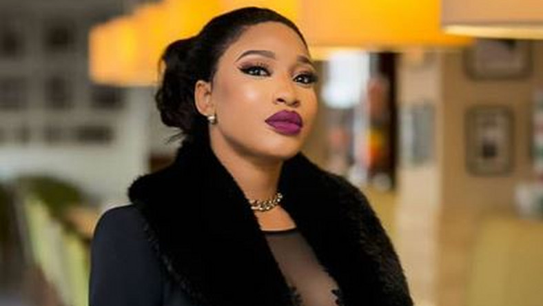 Tonto Dikeh prays to Jesus for help as she desires to get her boobs done for her birthday