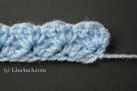 simple crochet blanket stitch