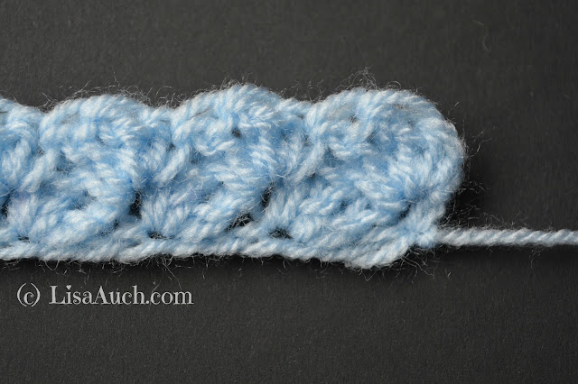 simple crochet blanket stitch