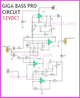 Bass Enhancer Circuit Giga  Bass
