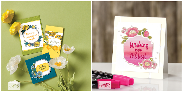 Tags In Bloom samples | item 152292 | Stampin' Up! Sale-A-Bration second release level 2 item