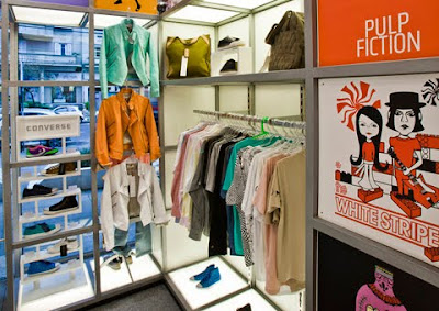 Idea para decorar tienda de ropa