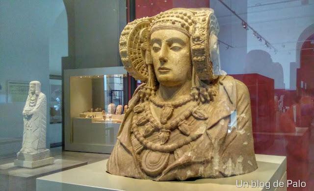 Dama de Elche museo arqueologico Nacional