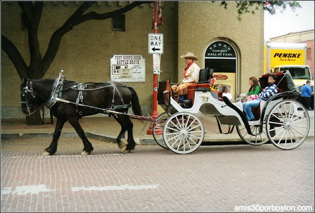 Fort Worth Stockyards: Carruajes