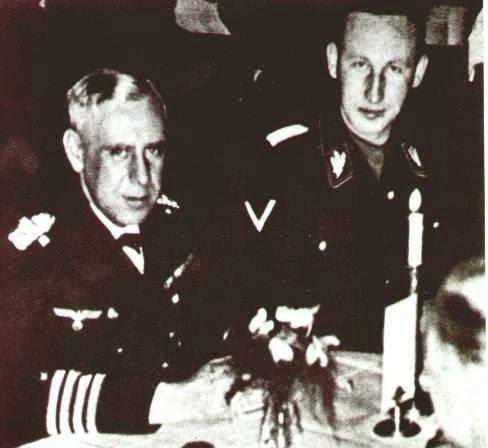 Reinhard Heydrich worldwartwo.filminspector.com Admiral Canaris