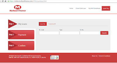 Muthoot Finance Online Payment