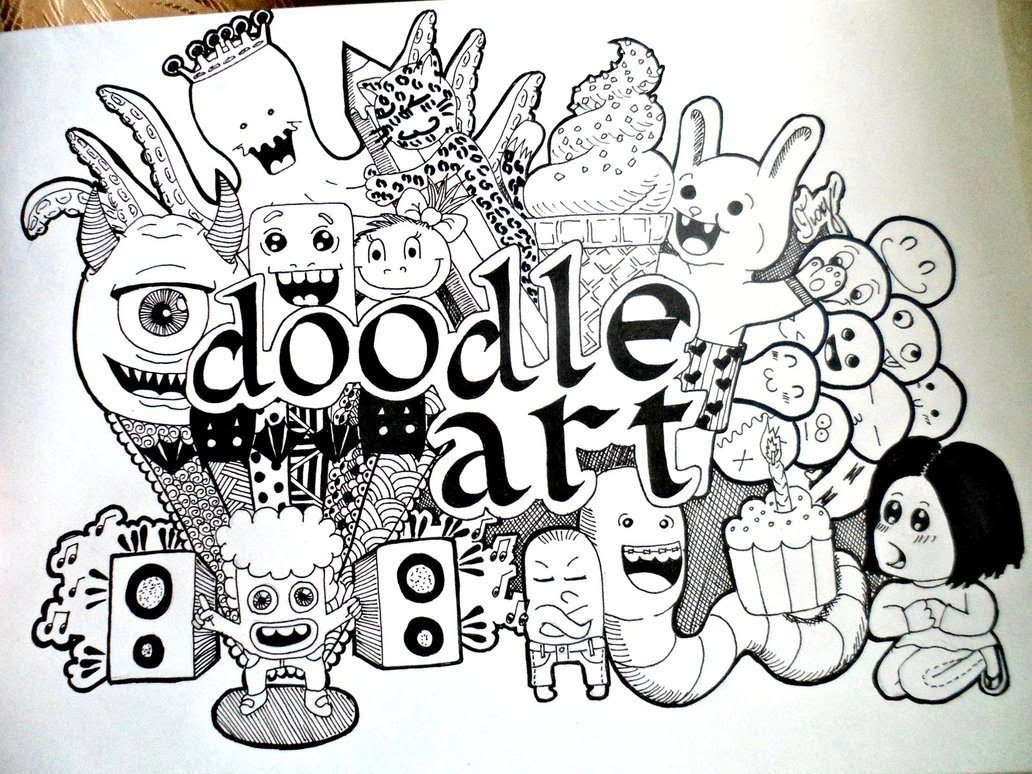 creative art business product money from art doodleart