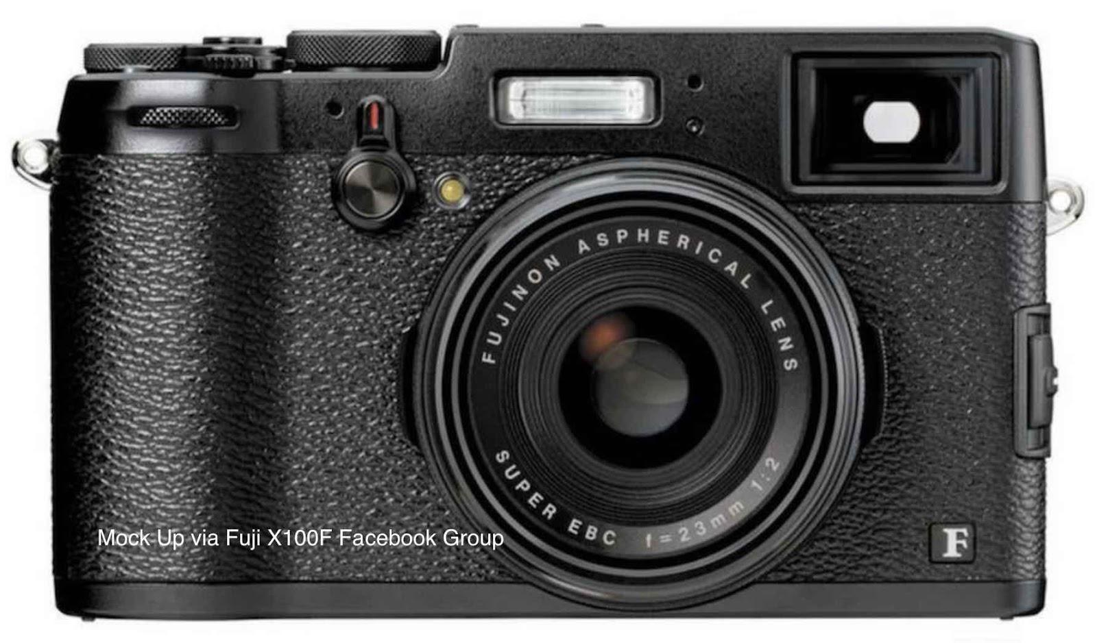Возможный внешний вид Fujifilm X100F