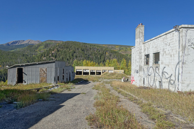 Gilman Colorado ghost town