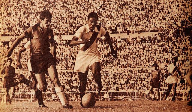Chile y Perú en Campeonato Sudamericano de 1955