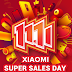 Xiaomi Sales Day Banjir Discount #11.11