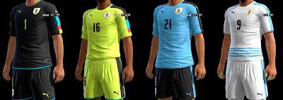 PES 2013 Uruguay GDB Copa America Centenario 2016 by ABIEL