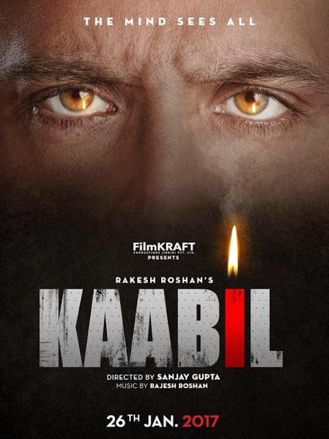 Poster Of Hrithik Roshan's Kaabil Is Here!