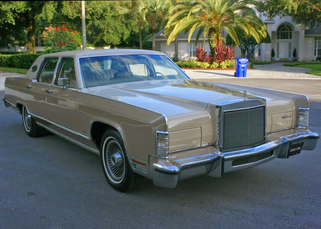 All American Classic Cars 1978 Lincoln Continental Town