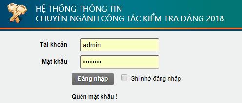 Cài đặt và sử dụng hệ thống TTCN UBKT
