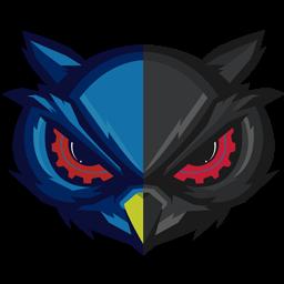 burung hantu logo design